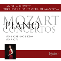 Mozart Piano Concertos Vol 1